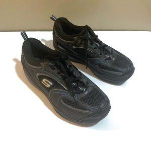 Skechers Shape Ups Cushioned Toning Walking Shoes